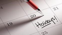 Calendario festività 2016 / 17